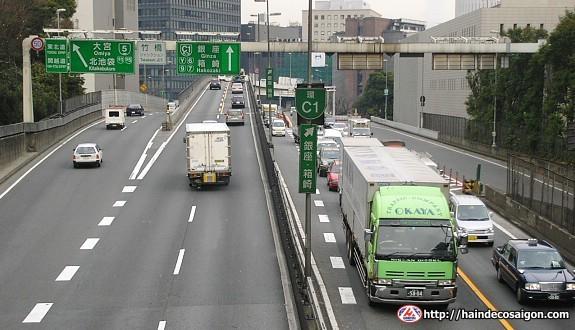 Lái xe bên trái khi tham gia giao thông tại Nhật Bản