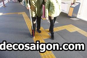 Đường giao thông cho người khiếm thị tại Nhật